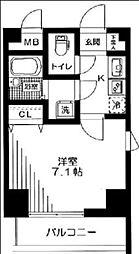 アーデン駒沢大学[5階]の間取り