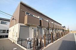 愛知県安城市高棚町郷の賃貸アパートの外観