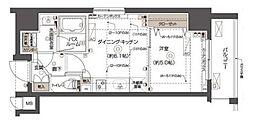 ズーム西五反田[504号室]の間取り