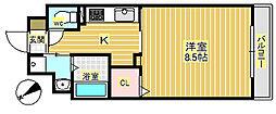 エルメンハイムII[4階]の間取り