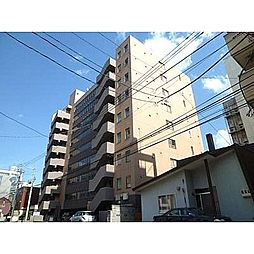 北海道札幌市中央区南一条西13丁目の賃貸マンションの外観