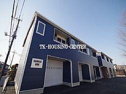 東武宇都宮線 西川田駅 徒歩15分の賃貸テラスハウス
