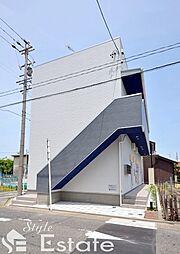 愛知県名古屋市中川区開平町2丁目の賃貸アパートの外観