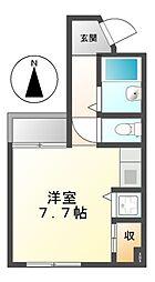 ドール栄5丁目[1階]の間取り