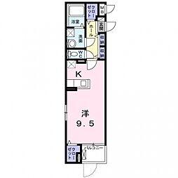玉櫛2丁目マンション[3階]の間取り