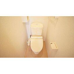 トリコローレ ロッソのシャワー付きトイレ