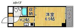 TBKビル[4階]の間取り