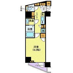 東京メトロ丸ノ内線 西新宿駅 徒歩5分の賃貸マンション 5階1Kの間取り