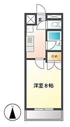 湯口マンション[2階]の間取り
