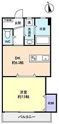 メゾンAK[2階]の間取り