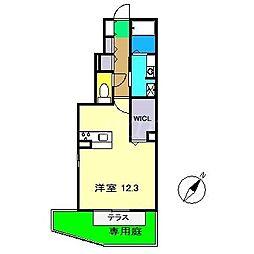 モンペリエ[1階]の間取り