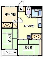 小宮マンション パートII[3階]の間取り