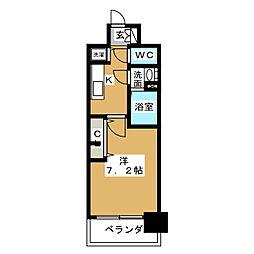 プレサンス名古屋グロウ[11階]の間取り