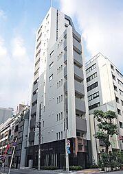東京都中央区新富1丁目の賃貸マンションの外観