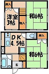 [一戸建] 広島県広島市東区戸坂山根1丁目 の賃貸【/】の間取り