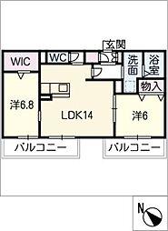 グレイスハウス[2階]の間取り
