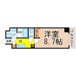 LUMINOUS千種[2階]の間取り