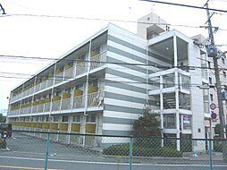 大阪府茨木市鮎川5丁目の賃貸アパートの外観