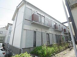 萩沢ハイツB棟[1階]の外観