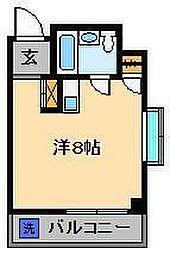 ホワイトシティ[4階]の間取り
