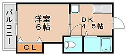 ハイム松島[1階]の間取り