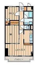 ラ・ベルヴィ[2階]の間取り