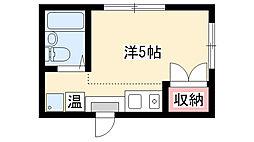 新川橋駅 2.2万円