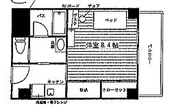 (仮)高蔵寺駅北食事付き学生マンション[2階]の間取り