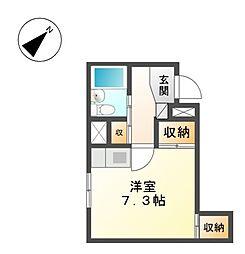 PROXYスクエアー徳川[2階]の間取り