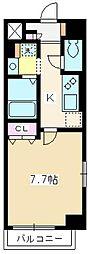 東武東上線 志木駅 徒歩5分の賃貸マンション 1階1Kの間取り