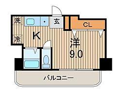 プライムシティ蕨[6階]の間取り