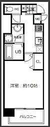 ランドマークシティ大阪城南[203号室]の間取り