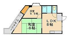 第二元木ビル[1階]の間取り