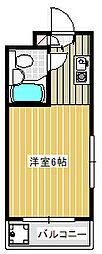 Dessert inn Tsujido[305号室]の間取り