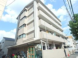大阪府大阪市東住吉区鷹合4丁目の賃貸マンションの外観