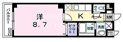 グランツ・宝ヶ池[305号室号室]の間取り