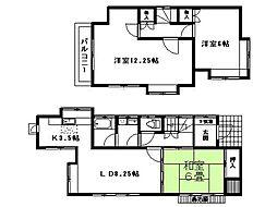 [一戸建] 埼玉県鴻巣市宮前 の賃貸【/】の間取り