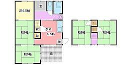 [一戸建] 兵庫県姫路市新在家本町2丁目 の賃貸【兵庫県 / 姫路市】の間取り