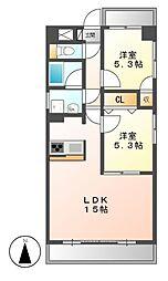 クレアートノムラ[5階]の間取り