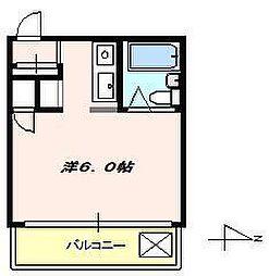 柳田ビル[3階]の間取り