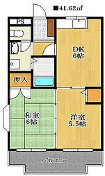 エクセル東千葉[3階]の間取り