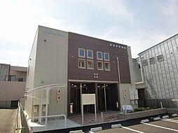 愛知県名古屋市名東区高針台3丁目の賃貸アパートの外観