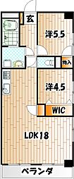 デザイナー・プリンセス・KY[6階]の間取り
