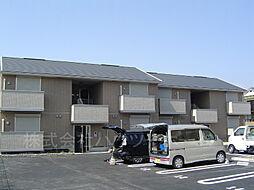 ラ・プリマべ−ラB棟[1階]の外観