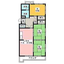 カーサ28[2階]の間取り