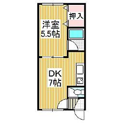 プレランスエステート[1階]の間取り