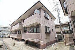 岡山県岡山市北区津島西坂2丁目の賃貸アパートの外観