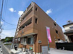 千葉県市原市五井中央西1丁目の賃貸アパートの外観