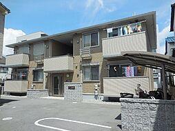 兵庫県尼崎市武庫豊町2丁目の賃貸アパートの外観