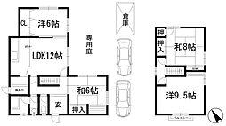 [一戸建] 兵庫県川西市湯山台1丁目 の賃貸【/】の間取り